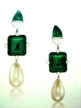 Hong Kong Christies Natural 9.12+8.84+Natural Pearls