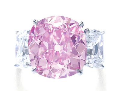 8.72ct Fancy Vivid Pink VS2 Type�a