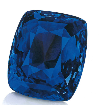 The Blue Belle of Asia 392.52ct Ceylon origin