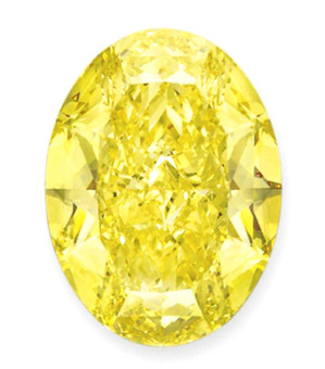 Lot205 OV 68.35ct F. I. Yellow FL EX EX