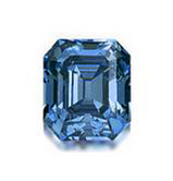 6.04ct EM Fancy Vivid Blue IF