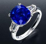 5ct size Kashimir Sapphire Ring