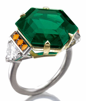 467 12.01cts Colombian Muzo mine Emerald