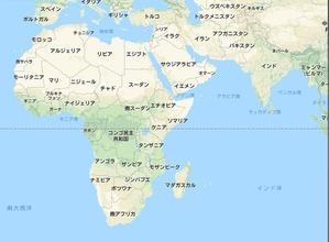 アフリカ地図