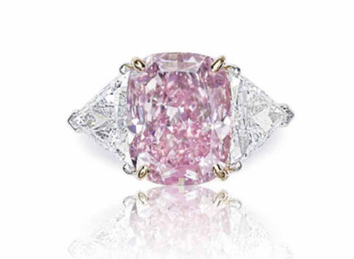 CU 10.07ct Fancy Intense Purple-Pink VS1