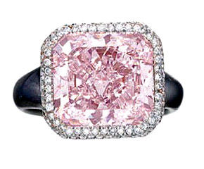 74 7.30cts Fancy Purple-Pink  VVS1
