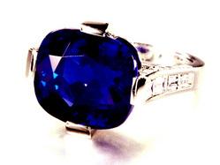 2453 16.55ct Kashimir Sapphire