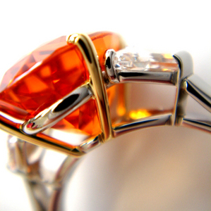 Mandarin Garnet サイドアップ