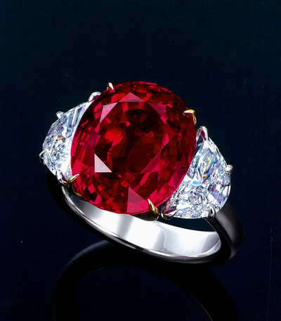 13.21ct Burma Mogok Ruby UT