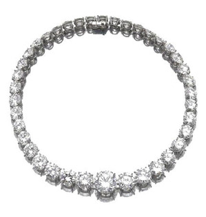 Diamond Necklace 39pc-144.64cts by Adler