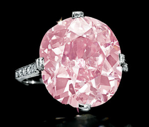Lot.304 9.00cts Fancy Vivid Purplish Pink SI1