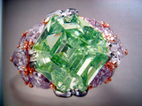 Hong Kong Christies 10.36ct Fancy Green