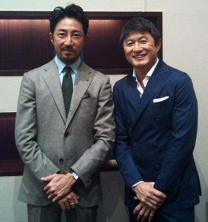 hoshiba03051 出版界のイケメン編集長として有名なメンズクラブ編集長の戸賀敬城さん、い