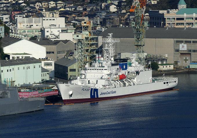新長崎遠めがね : 巡視船「れいめい」の引き渡し式