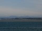 浜名湖から富士山