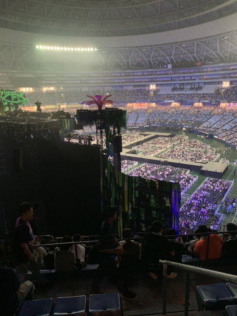 【乃木坂46全ツ2019大阪】ステージバック席が全然見えないw