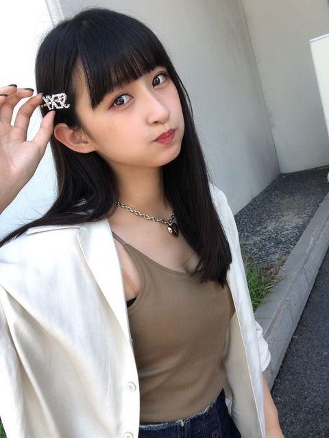 【朗報】HKT48松本日向ちゃんがえちえちな私服で握手会