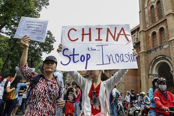 Vietnam-China-protests