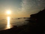 太平洋の朝日です