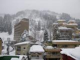 湯沢の雪景色