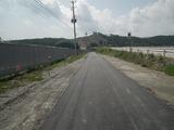 奇跡の一本松 国道脇を進む