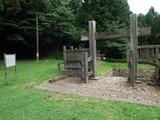 八王子城跡 虎口と冠木門