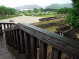 松代城 戌亥櫓台からの眺め