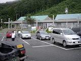 道の駅 河野 駐車場と建物