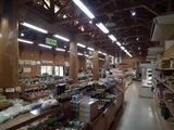 道の駅 すえよし 四季祭市場 農産物直売所内部