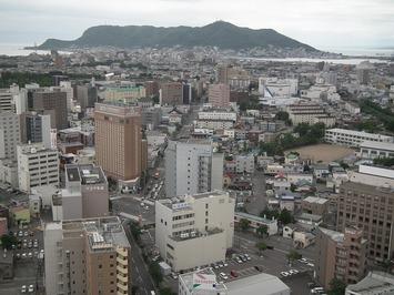 函館山方面