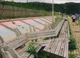 世界一長いベンチ�