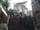 山王神社 一本柱鳥居
