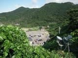 角田岬灯台 無料駐車場