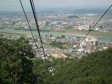 金華山ロープウェーからの眺め