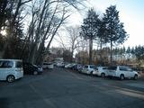 新屋山神社 駐車場