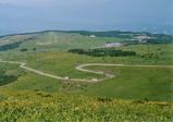 車山高原 山頂からの眺め