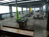 蔵王山展望台 屋外テラス