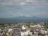 島原城 天守閣最上階からの眺望