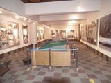 鬼城山ビジターセンター 展示棟内部