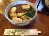 魚要 湯波そば(温かいそば)