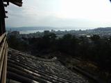島根 松江城天守閣からの眺め