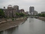 原爆ドーム 相生橋より
