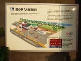 道の駅 大谷海岸 案内図