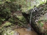 八王子城跡 御主殿の滝