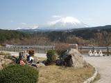 本宮展望駐車場からの大山