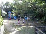 披露山公園内の子供の遊び場