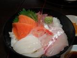 海の駅蜃気楼 幻魚房の海鮮丼