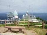 龍飛埼灯台からの眺望 向う岸は北海道です
