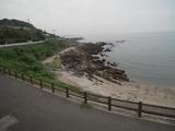 道の駅 佐賀関 裏手の海岸