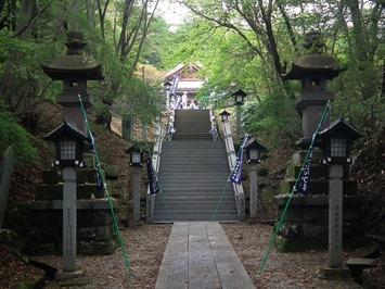 那須温泉神社 参道